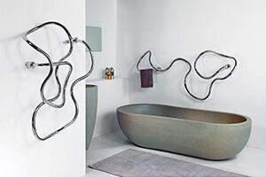 Дизайнерские полотенцесушители для ванны - советы в выборе